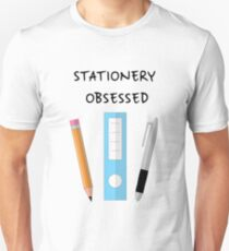 Stationery Obsessed  Unisex T-Shirt