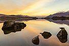 Derwentwater Sunrise by David Lewins