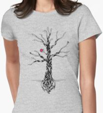 Tree of knowledge Womens Fitted T-Shirt