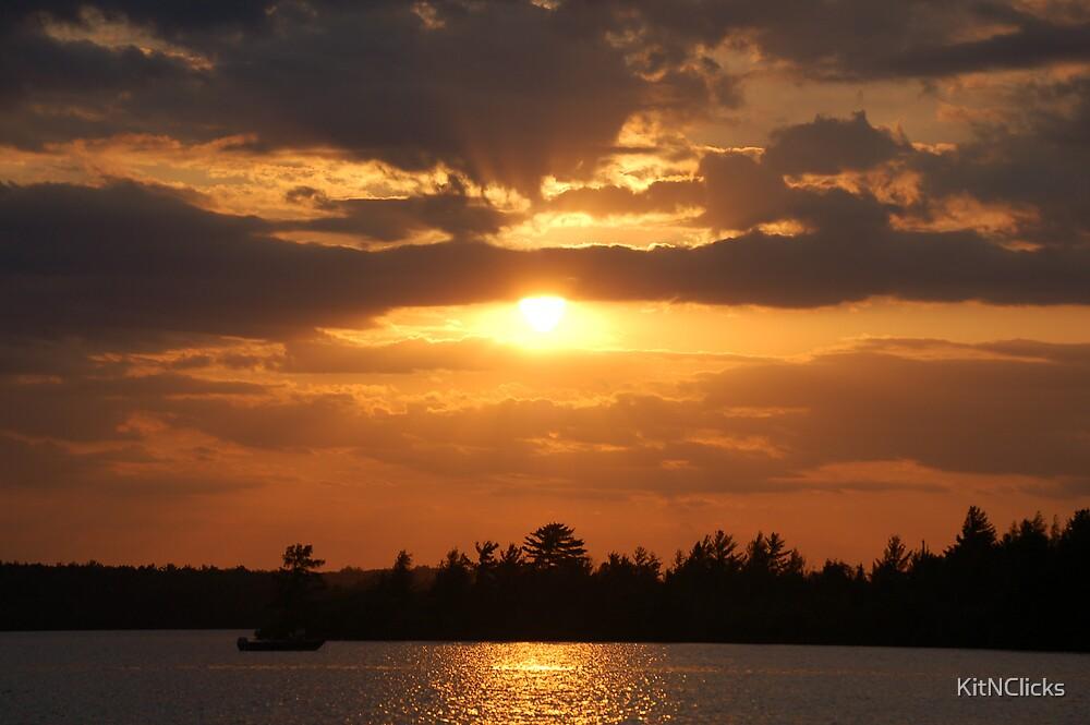 Minocqua Sunset by KitNClicks