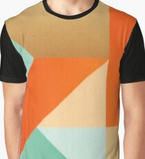Abstract art - Color pattern 2 - green, orange , gold  Graphic T-Shirt
