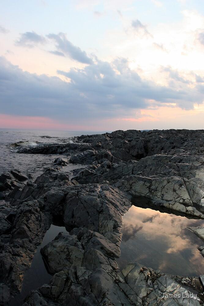 Rock Island Reflections II by James Lady