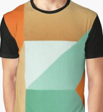 Abstract art - Color pattern 3 - green, orange , gold Graphic T-Shirt