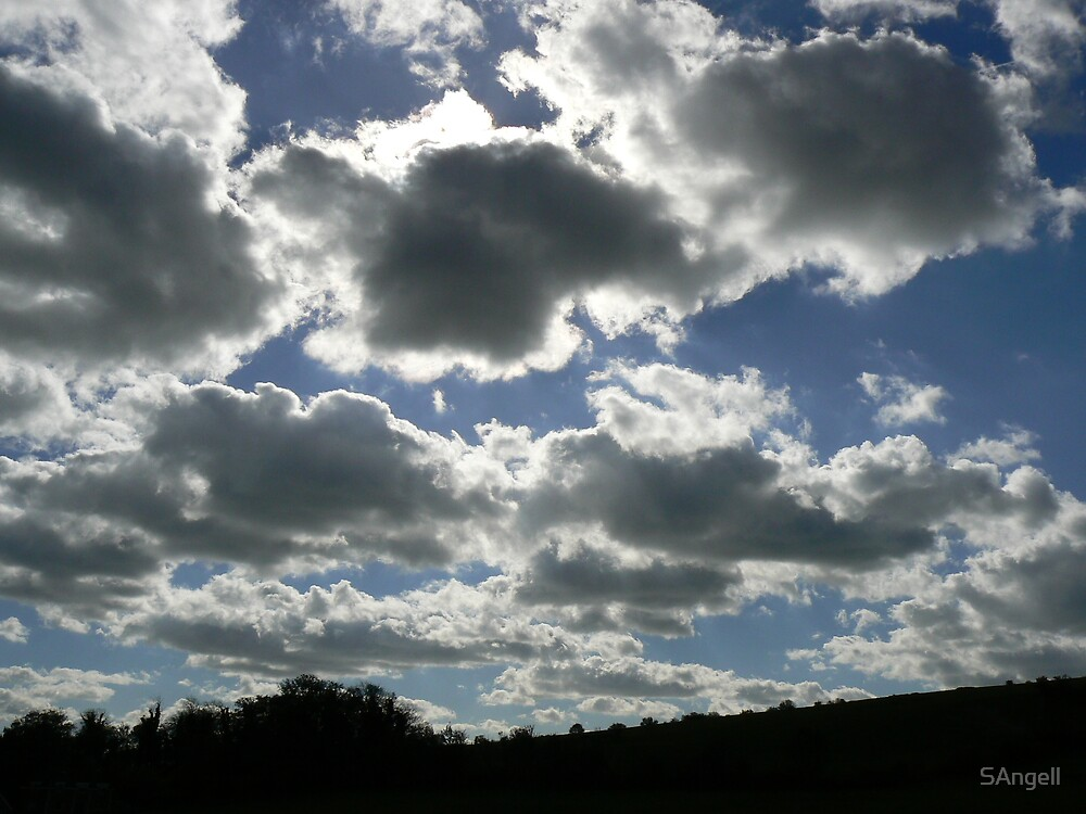 Sky Over Slonk Hill by SAngell