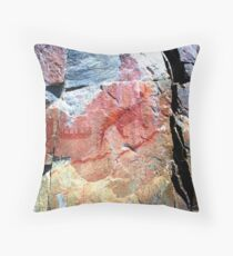 Ojibwa Pictographs, Circa 1600 AD Throw Pillow