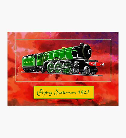 Steam Locomotive - The Flying Scotsman 1923 Photographic Print