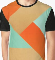 Abstract art - Color pattern 4 - green, orange , gold Graphic T-Shirt
