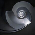 Modern spiral staircase by JBlaminsky