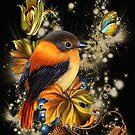 Golden Bird of Summer by LoneAngel