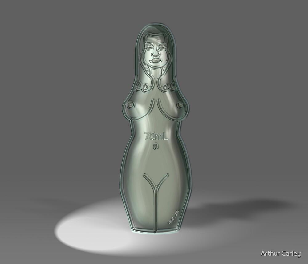 Female Purfume Bottle by Arthur Carley