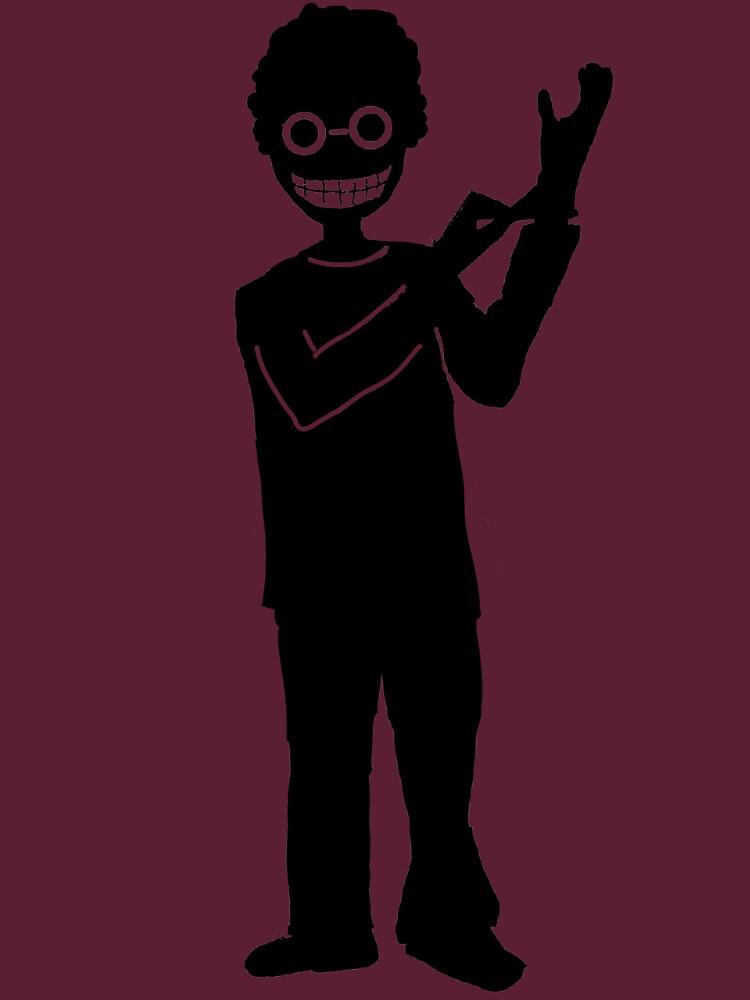 Weird guy by LucyNuzit
