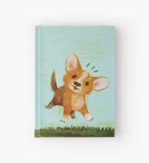 Startled Doggo Hardcover Journal