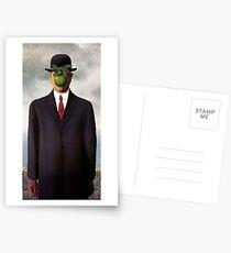 Magritte Apple Iphone Hülle | Haut | Abdeckung Postkarten