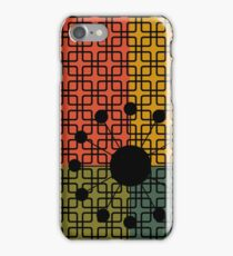 Mod Pattern 5 Burst iPhone Case/Skin