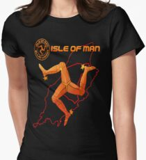 Isle of Man  Womens Fitted T-Shirt