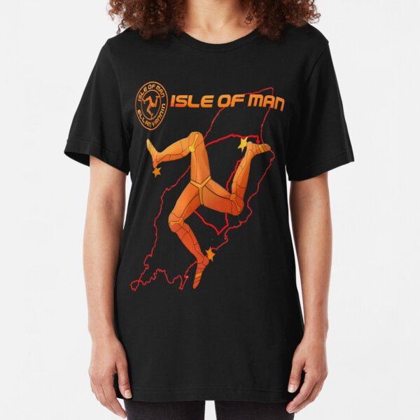 Isle of Man  Slim Fit T-Shirt