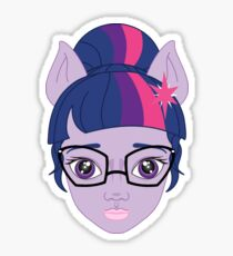 twilight sparkle pony up! Sticker