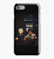 The Doctor and Bill iPhone Case/Skin