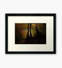 Foot Traffic Framed Print