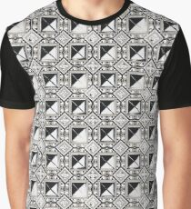 Squares and Triangles Graphic T-Shirt
