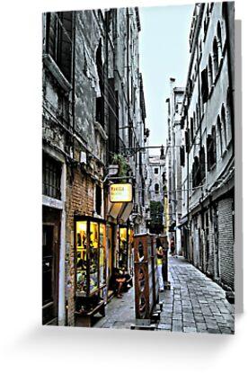 Venice Back Street by naturelover