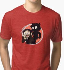 Shadow-San Tri-blend T-Shirt