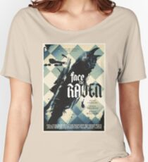 Face The Raven Women's Relaxed Fit T-Shirt