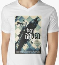 Face The Raven Men's V-Neck T-Shirt