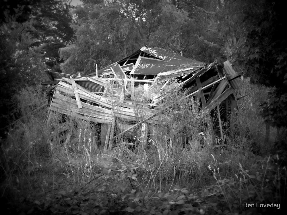 Renovator's Delight- Swamp Road, Lenswood. by Ben Loveday