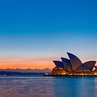 Opera dawn, Sydney by Erik Schlogl