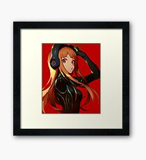 Persona 5 Futaba Sakura Framed Print