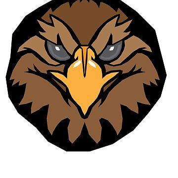 Geometric Eagle by sherman101