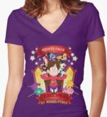 Mabel's Poster Women's Fitted V-Neck T-Shirt