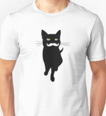Cat With Mustage | Cat Lovers  Unisex T-Shirt