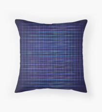 abstract blue background Throw Pillow