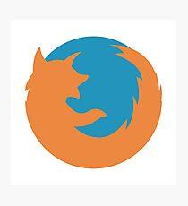 Firefox Photographic Print