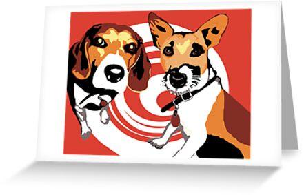 Frankie and Straus by Gloria Ferreira