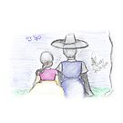 Sketch 027 - 한복 by liajung