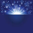 blue ray background by valeo5
