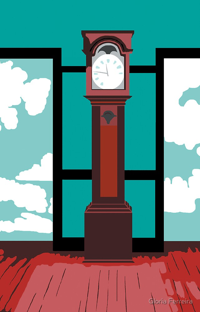 Shaker Clock by Gloria Ferreira
