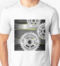 gears background Unisex T-Shirt