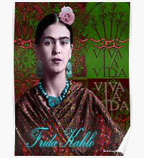 Frida Kahlo - Viva la Vida (Ver 3.2) Poster