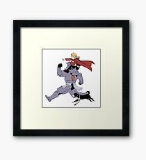Full metal alchemist  Framed Print