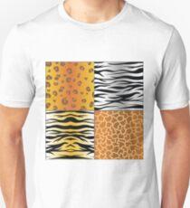 set of animal skins Unisex T-Shirt
