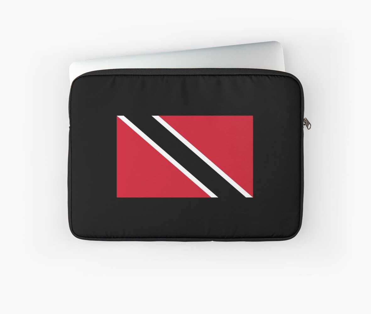 Trinidad and tobago national flag t shirt stickers by deanworld