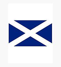 Scottish Independence Flag Scotland T-Shirt Photographic Print