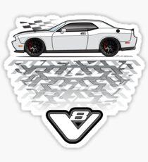 white Sticker