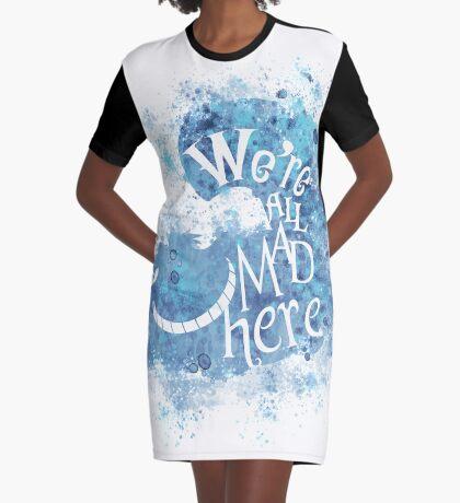 Todos somos hechos aqui Vestido camiseta