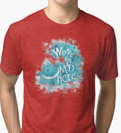 Todos somos hechos aqui Camiseta de tejido mixto