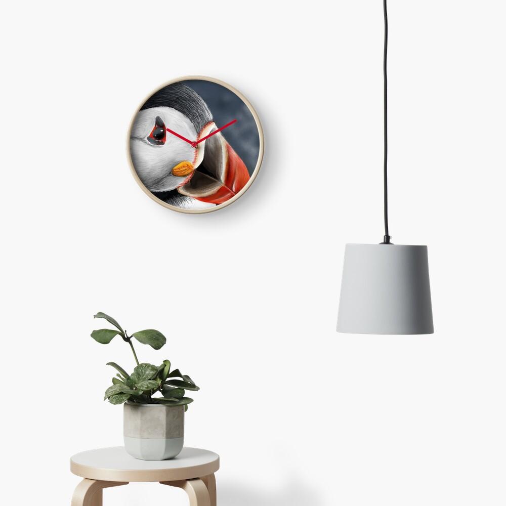 Puffin Clock